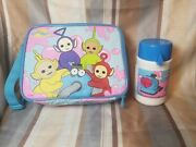 Teletubbies Lunch Bag Box New Vintage With Thermosandnbsp A1
