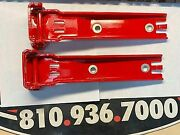 Oem Jeep Wrangler Tailgate Hinges With Covers 55395401ag Red