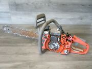 Power Husqvarna 440 Chainsaw Saw Blade Recoil Assembly For Parts Only 9671660-01