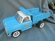 Vintage Blue And White Tonka Hydraulic Dump Truck Parts