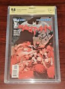 Batman 1 3rd Printing The New 52 Cbcs 9.8 Signed By Scott Snyder