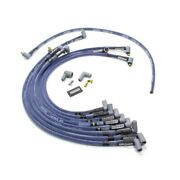 Moroso 73600 Spark Plug Wires Ultra 40 Spiral Core 8.65mm Blue 90 Deg Boots New