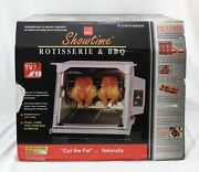 Ronco Showtime Rotisserie And Bbq Platinum Edition Model 5000 New Open Box