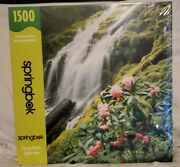 Peaceful Waterfall - Springbok 1500 Piece Puzzle Sealed