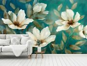 3d Vintage Flower Zhua1743 Wallpaper Wall Murals Removable Self-adhesive Amy