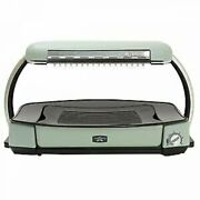 Used Aladdin Electric Pan Far Graphite Hot Plate Grill Green Cag-g13as-g Kitchen