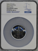 Queen's Gate 2018 Canada 30 Silver Coin Ngc Pf 70 Uc Early Release