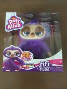 Pets Alive - Fifi Flossing Sloth - Zuru Free Shipping In Hand