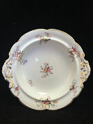 Vintage Brown Westhead Moore And Co. Cauldon Place England Serving Bowl