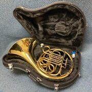 New John Packer Jp165 Single French Horn W/ Case Valve Oil And Mouthpiece