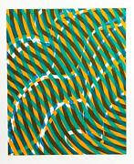 Stanley William Hayter Untitled 1 From The Aquarius Suite Screenprint Signed