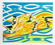 Stanley William Hayter Untitled 4 From The Aquarius Suite Screenprint Signed