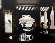 Harry Mccormick Empire Diner Screenprint Signed And Numbered In Pencil
