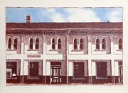 Linda Plotkin, Huntingdon Train Station, Lithograph, Signed And Numbered In Penc