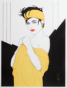 Steve Leal Yellow Bandana Screenprint Signed And Numbered In Pencil
