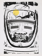 Roy Ahlgren, Beetle, Screenprint, Signed And Numbered In Pencil