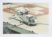 Ron Kleemann Texas Chopper Screenprint On Somerset Signed And Numbered In Pen
