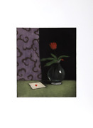 Tomoe Yokoi, Ace Of Hearts, Mezzotint, Signed And Numbered In Pencil