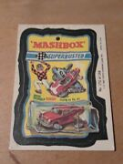 1980 Topps - Wacky Packages - 172 Mashbox Advertising Sticker
