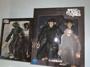 """Hiya Toys Rise Of The Planet Of The Apes Caesar And Koba 6"""" Scale Action Figures"""