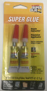 The Original Super Glue Tube 2-pack For Metal Wood Rubber And Plastic