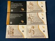 2011-2016 Us Mint Presidential 1 Coin Proof Set