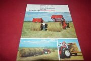 New Holland 845 850 Round Baler For 1976 Brochure Tbpa