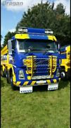To Fit Volvo Fh Series 2 And 3 Low Cab Steel Roof Light Bar + Spots + Flush Led