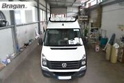 To Fit Volkswagen Crafter 2014 - 2017 Black Stainless Roof Spot Light Bar + Leds