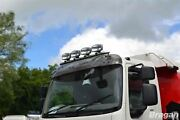 To Fit Iveco Eurocargo Front Top Roof Spot Light Bar A + Jumbo Spots + Flush Led