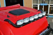 To Fit Renault Magnum Black Steel Roof Light Bar + Spots + Flush Leds + Beacons