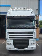 To Fit Man Tga Lx Cab Stainless Roof Light Bar + Spots + Beacons + Air Horns