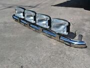 To Fit Mitsubishi Sterling 360 Stainless Steel Roof Bar A + Oval Spots + Leds