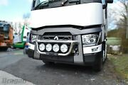 To Fit 2013+ Renault C Range Standard Cab Stainless Steel Grill Light Bar A