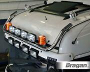 To Fit 19+ Mercedes Actros Mp5 Bigspace Roof Bar B + Spots + Leds + Amber Beacon