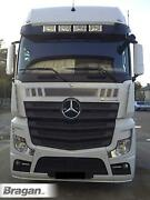 To Fit Mercedes Actros Mp5 Big Space Acrylic Sun Visor Shade Sunshield - Rhd