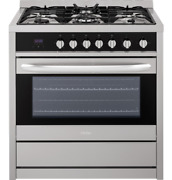 Haier 36 3.8 Cu. Ft. Gas Free-standing Range 5 Sealed Burners Hcr6250ags