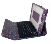 Universal Paisley Bluetooth Keyboard For 9andrdquo Samsung And Ipad Tablets Smart Tv
