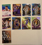 2017-18 Josh Hart Lot Of 9 Rc Sp Card Optic Shock Auto Jersey Los Angeles Lakers