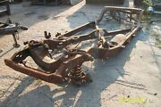 1957 Buick Roadmaster 75 Frame Chassis 2 Door Hardtop Century Special And03957 And03958