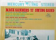 Mack Sanders And His Swing Band Lp Mercury Wing 16270 Stereo Near Mint