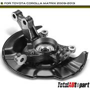 Hub Bearing And Knuckle Assembly Front Left For Toyota Corolla Matrix 2009-2013