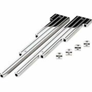 Billet Specialties 69520 Wire Looms - Universal Ball Milled Polished New