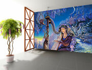 3d Playing The Harp Zhua4375 Wallpaper Wall Murals Removable Self-adhesive Amy