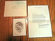 Jacqueline Kennedy Thank You For Your Sympathy Message With Mass Card