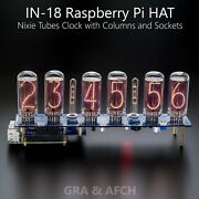 In-18 Shield Ncs318 Raspberry Pi Hat Or Arduino Nixie Clock [with Options]
