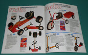 Vintage 1980s Radio Flyer Toy Catalog Pedal Cars Wagons Scooter Tricycle Kids