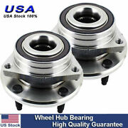 Set Of 2 Front Wheel Hub And Bearing Assembly For Chevrolet Corvette 2014-2019 Fwd