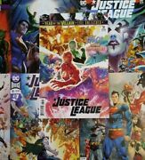 Justice League 30-39 Aandb Covers 20 Issue Comic Book Lot Snyder Justice Society