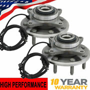 Pair 2 Front Wheel Hub Bearing For 2011- 2014 Ford F-150 7 Lugs 4wd 2wd 513326